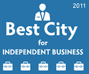 Best City for Independent Business 2011