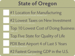 Doing Business in Oregon
