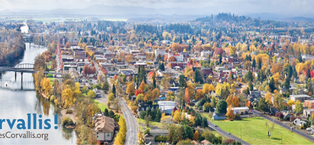 CORVALLIS:  The city where we live study work and play…