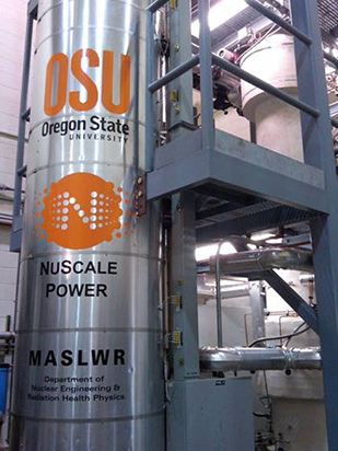 NuScale nuclear test facility at Oregon State University